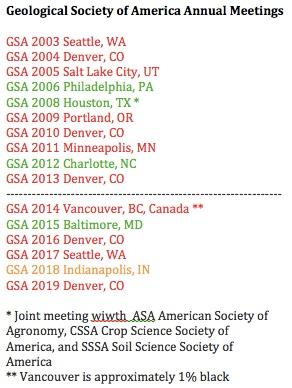 GSA Meetings